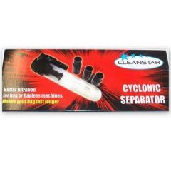 Cyclonic Dust Separator Vacuum Attachment (FILTURB)