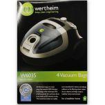 Wertheim 5030, 5035, 6030 & 6035 Vacuum Cleaner Bags (32440223)