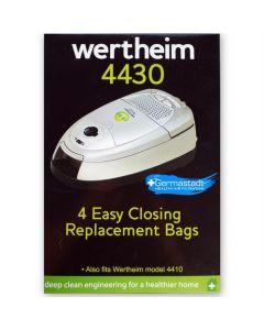Wertheim W4000, 4410, 4412, 4430 Vacuum Cleaner Bags (32420293)