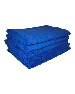 Blue Microfibre Cloths 5-Pack (MFBLU)