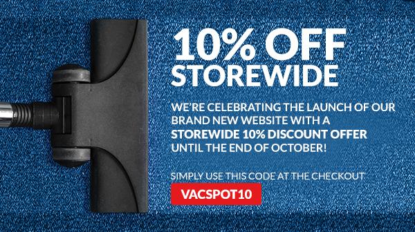 10% OFF storewide until 31 October 2017!