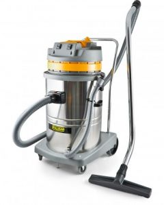Pullman 60 Litre CB60-2-SS Twin Motor Stainless Steel Wet and Dry Commercial Vacuum Cleaner (11500014)