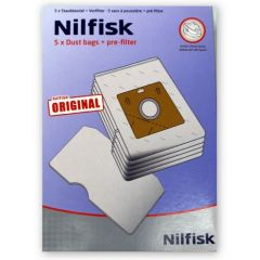Nilfisk GM100 Sprint, Action, Bravo and Astral Series Vacuum Bags (30050002)