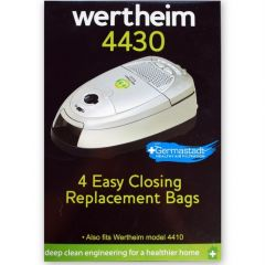Wertheim W4000, 4410, 4412, 4430 Vacuum Cleaner Bags (32420293)
