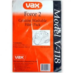 Vax Force 2 Washable Filter Pack (23700)