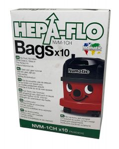 Numatic Henry NVM1CH Hepaflo Synthetic Dust Bags (604015)