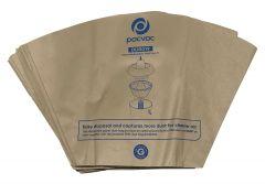 Genuine Pacvac Superpro 700 Disposable Paper Dust Bags (DUB019)