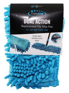 Cleanstar Replacement Dual Action Flip Mop Pad (FMOP-PADCV)