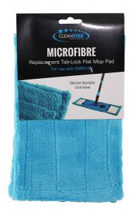 Cleanstar Replacement Tab-Lock Flat Mop Pad (FMOP-PADV)