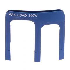 Pacvac Superpro 700 Backpack Insert Intermediate Housing - Power Outlet IEC C17 - Power Inlet IEC C14 - Blue (INT006)