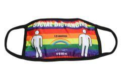 Pride Male Cloth Face Mask - Rainbow (MASKC-PRIDEM) - Vacuum Spot