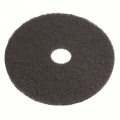 12-inch Black Heavy Duty Wet Stripping Pads - 5 Pack (PAD-BLK-12)