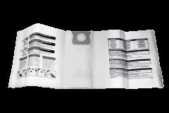 Shop Vac 40L-50L Paper Vacuum Cleaner Bags (9066229)