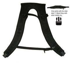 Ghibli T1 Backpack Shoulder Harness Straps - Original Style (T1-12)
