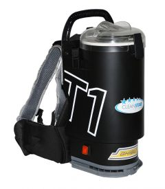 Ghibli T1 Backpack Vacuum Cleaner - Version 3 - Charcoal with Grey Lid (T1v3)