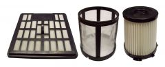 Vacuum Filter Kit for Allure T4007, Airflo AFV4007 and Cleanstar V2400 Vacuum Cleaner (T4007-PACK)