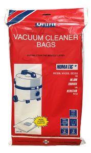 Numatic NV200, NV250,SE250 Vacuum Cleaner Bags 10 Pack