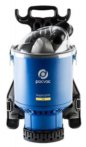 Pacvac Superpro 700 Backpack Vacuum Cleaner (VB700PR01A01)