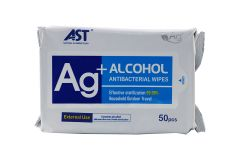 Antibacterial Alcohol Wipes - 50 Pack (WIPE-PK50)