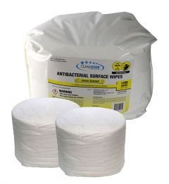 Antibacterial Lemon Scented Surface Wet Wipes 2-Pack (WIPES-NA1200)