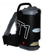 Ghibli T1 Backpack Vacuum Cleaner - Version 3 - Black with Grey Lid (T1v3-B)