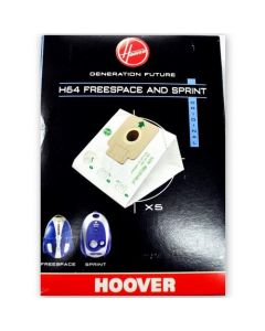 Hoover Freespace & Sprint Vacuum Cleaner Bags H64 (32420306)