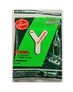 Hoover Type Y Allergen Vacuum Cleaner Bags (32420051)