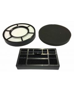 Electrolux and Volta Aptica Carbon HEPA Filter and Foam Filter Pack (EF136)