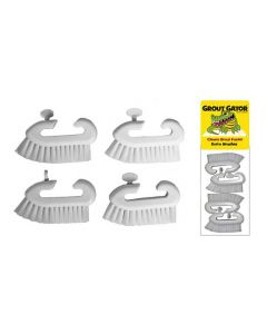 Grout Gator Replacement Brush Heads 4-Pack (GG-BRUSH)