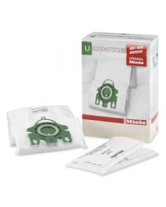 Miele Type U Synthetic HyClean Vacuum Cleaner Bags + Filters (M-TU)