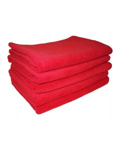 Red Microfibre Cloths 5-Pack (MFRED)