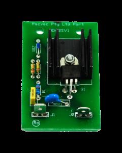 Pacvac Glide Wispa 300 and Superpro Wispa 700 Two Speed Vacuum PCB (PCB002)