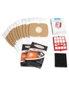 Sauber Intelligence SI-200 Vacuum Cleaner Bags & Filters Kit (SAUB-KIT)