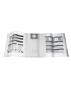 Shop Vac 40-50e Paper Vacuum Cleaner Bags (90662)