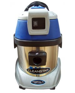 CLEANSTAR 15L Stainless Steel Commercial Wet and Dry Vacuum Cleaner (VC15L)