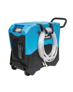 XPOWER 85L Commercial LGR Dehumidifier with Wheels and Mobility Handle (XD-85LH)